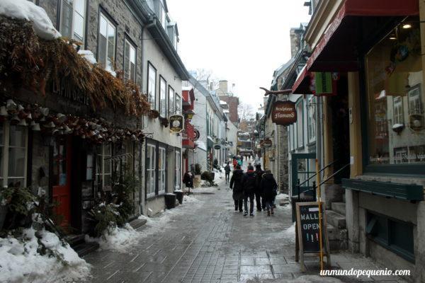 Parte baja de Québec City
