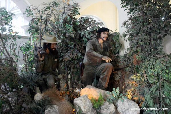 Representación del Che Guevara y Camilo Cienfuegos