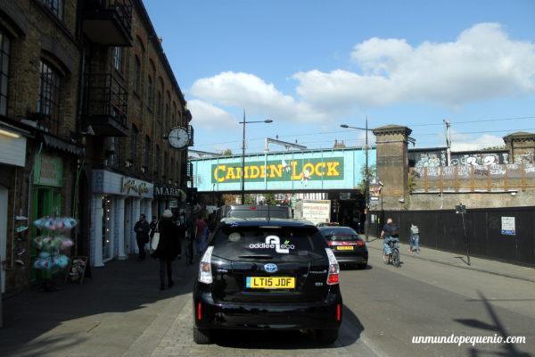 Cartel de Camden Lock