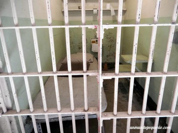 Celda de Alcatrazv