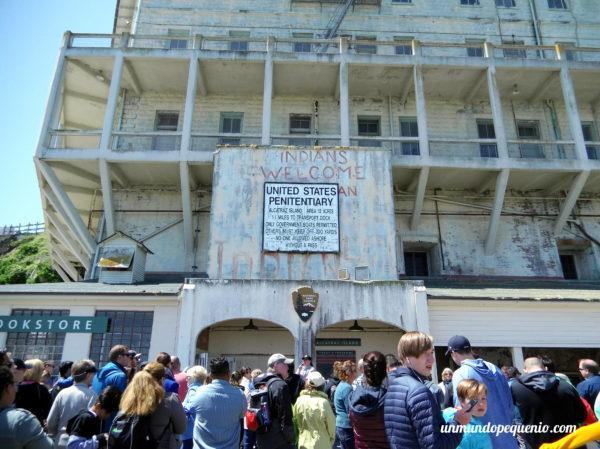 Entrada a Alcatraz