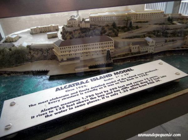 Maqueta de Alcatraz