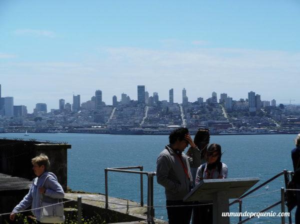 Vista de San Francisco desde Alcatraz