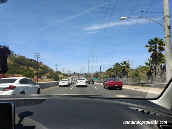 En auto por LA