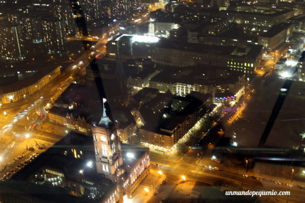 Ayuntamiento de Berlín visto desde la torre de TV