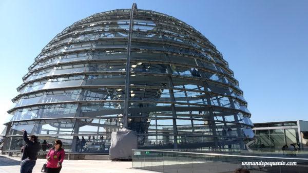 Cúpula del Reichstag por fuera