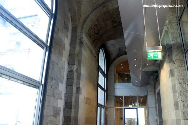 Pasillo del Reichstag de Berlín