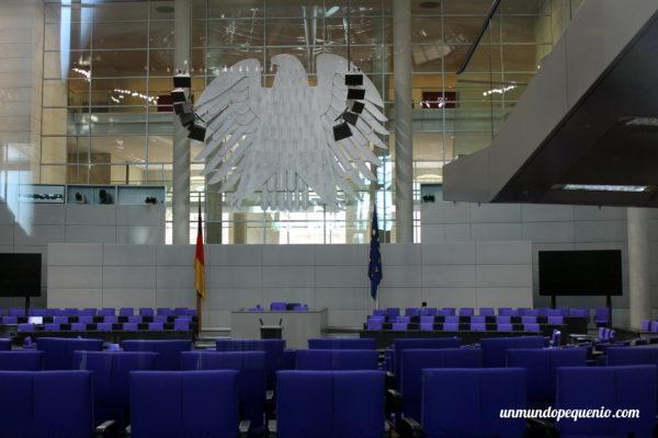 Sala plenaria del Reichstag de Berlín
