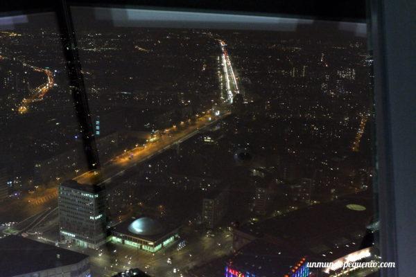Vista de Berlín desde la torre de TV