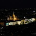 Castillo de Praga visto desde la Torre de Petrin
