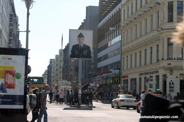 El famoso Checkpoint Charlie