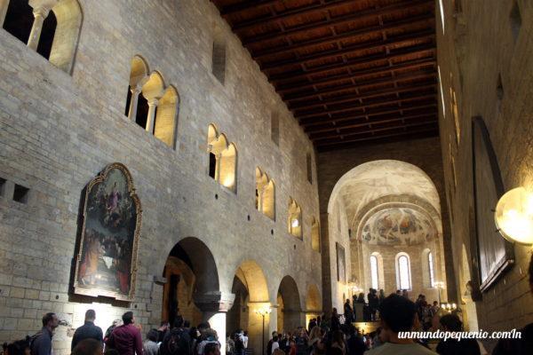 Interior de la Basílica de San Jorge