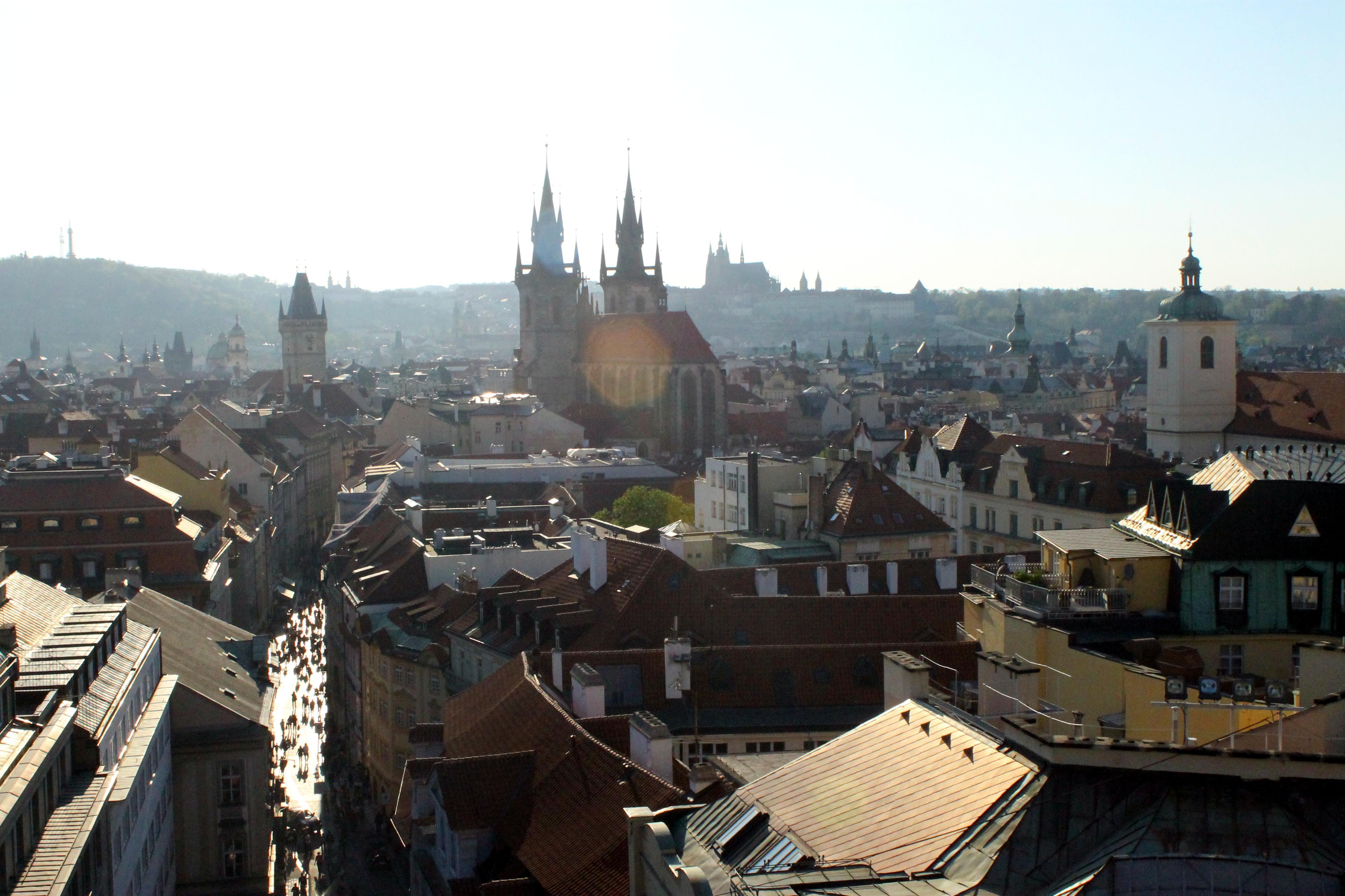 Techos de Praga
