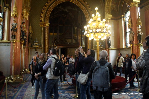 Antigua sala de descanso - Parlamento de Budapest