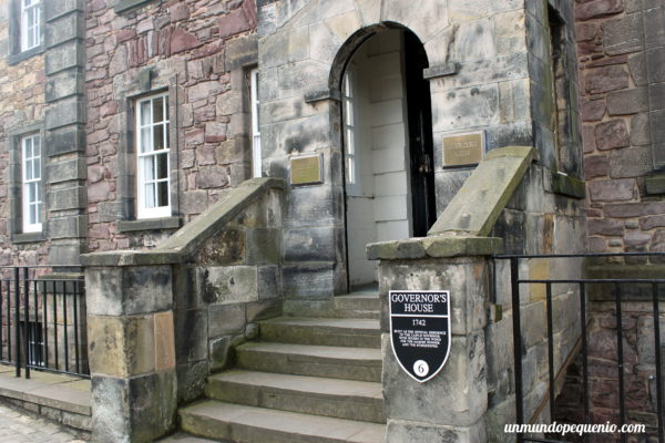 Casa del gobernador del Castillo de Edimburgo