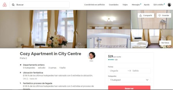 Departamento Praga Airbnb