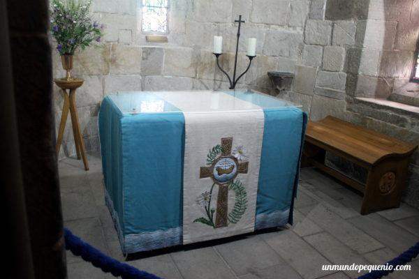 Interior de la capilla de Santa Margarita