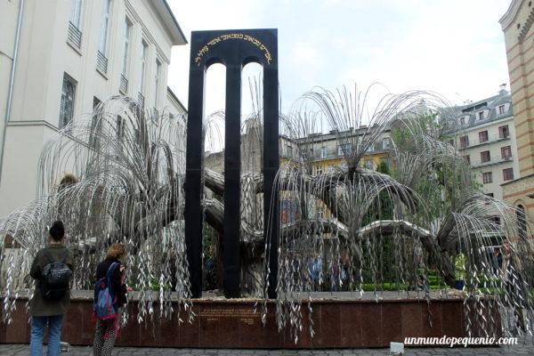 Memorial a los mártires judíos húngaros