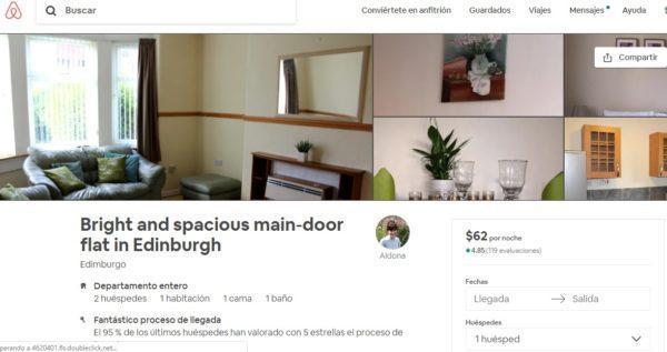 Departamento Edimburgo Airbnb