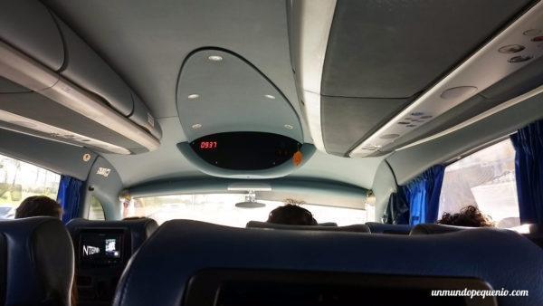 En el bus a Praga