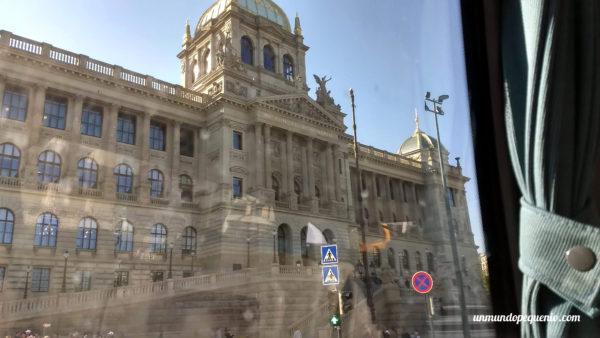 Pasando por Bratislava de camino a Budapest