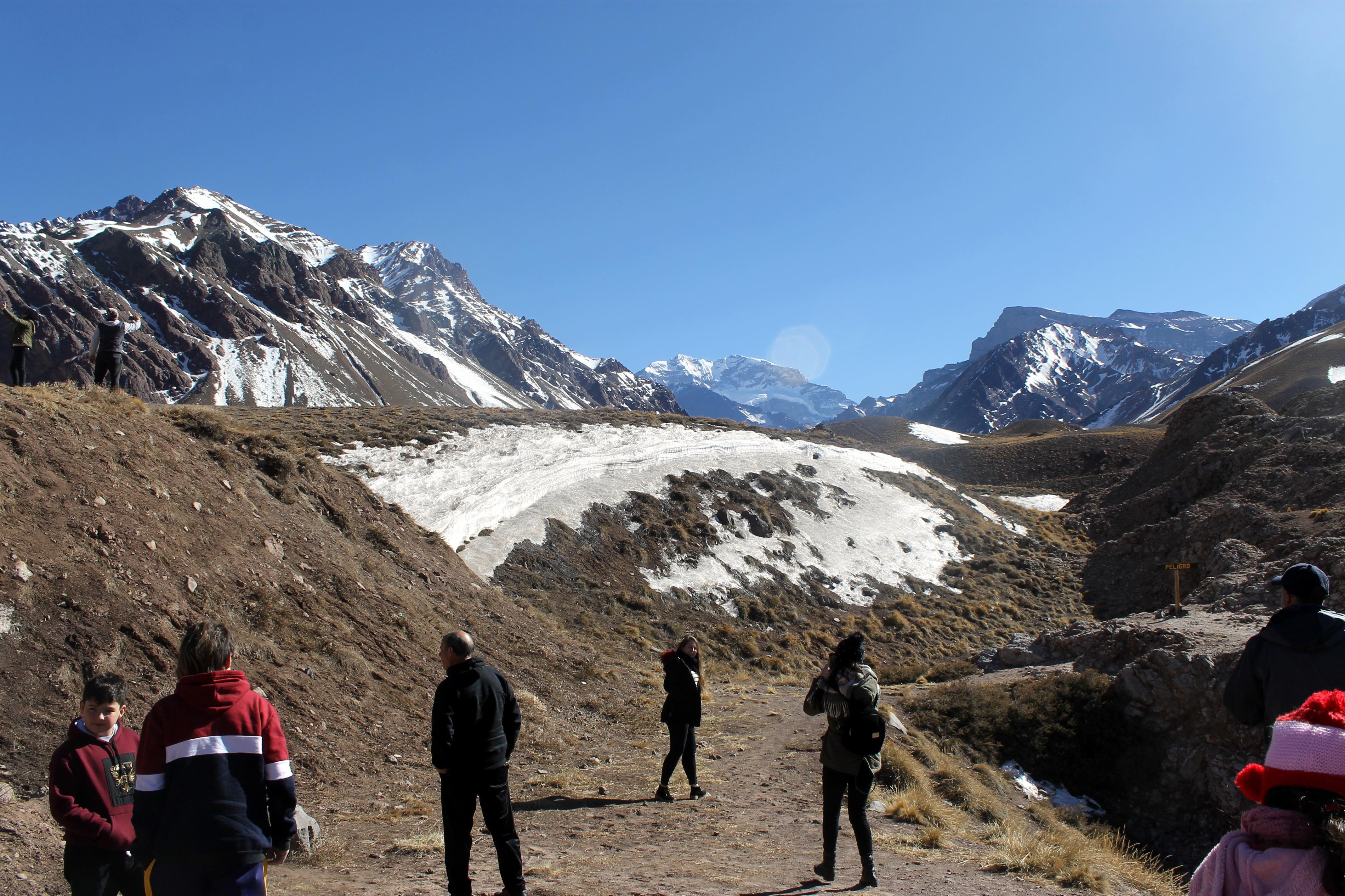 Tour de alta montaña