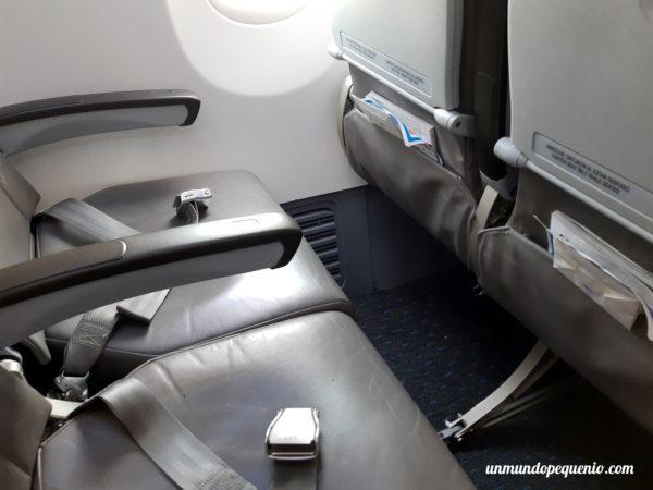 Asientos boeing 737-800