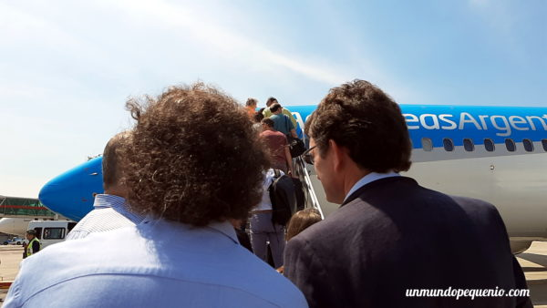 Avión de AR Buenos Aires-Rio de Janeiro