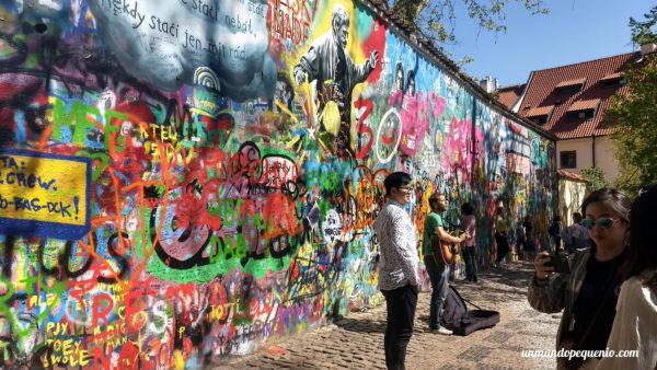 Muro de John Lennon de Praga