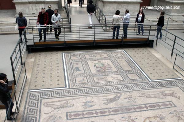 Mosaico de Orfeo de una casa en Mileto - siglo II a. C