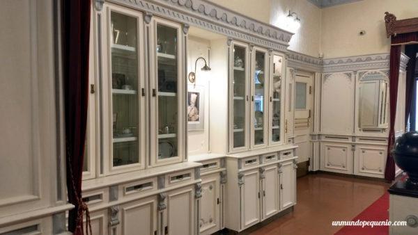 Muebles que decoran la pastelería Hauer