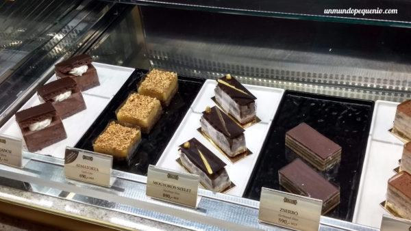 Otros postres de la pastelería Hauer