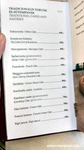 Precios de tortas pastelería Hauer