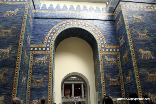 Puerta de Ishtar de frente