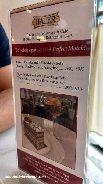 Recomendaciones pastelería Hauer