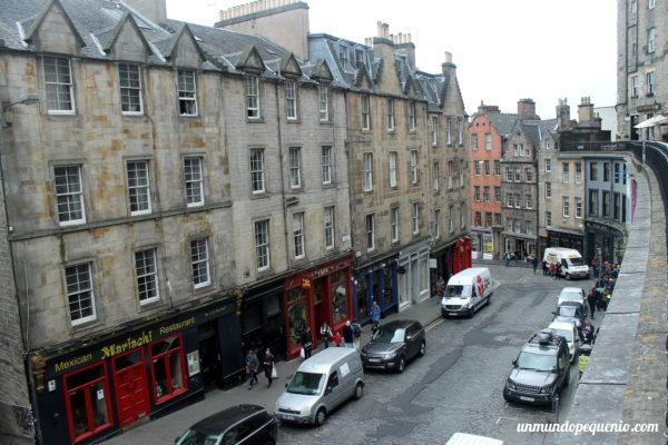 Vista superior de Victoria Street