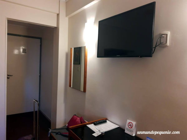 Ingreso a la habitación del Hotel Nutibara