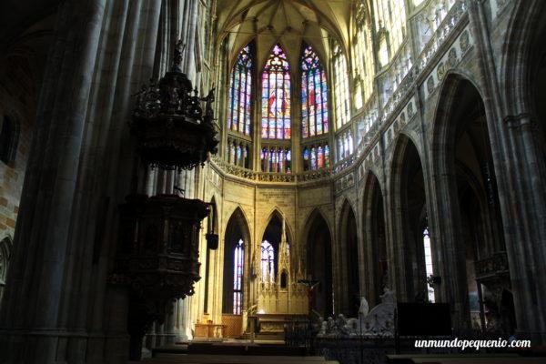 La Catedral de San Vito por dentro