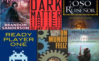 Libros de fantasía y ciencia ficción