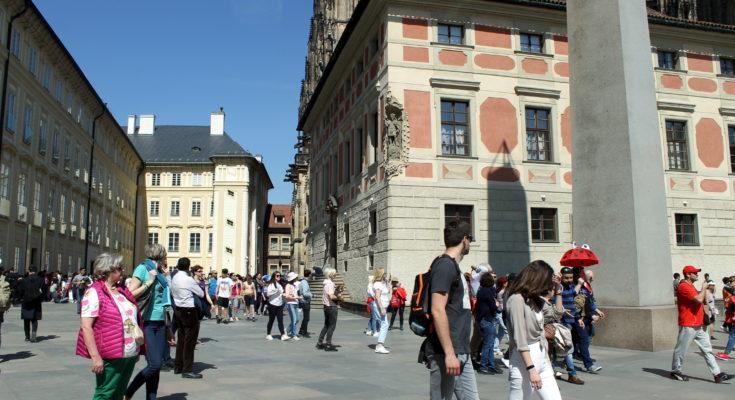Patio del Castillo de Praga