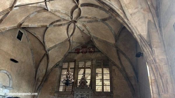 Techo del Antiguo Palacio Real de Praga