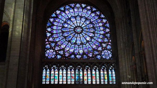 Rosetón de Notre Dame