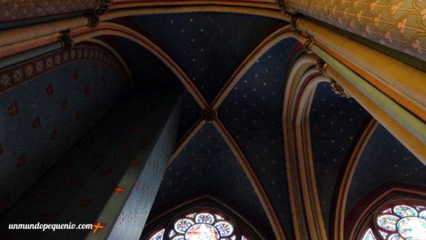 Techo interior de Notre Dame