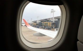 Ventana vuelo Austral