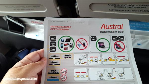 Cartilla de seguridad Embraer 190