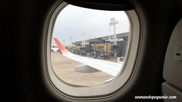Ventanilla Embraer 190 Austral