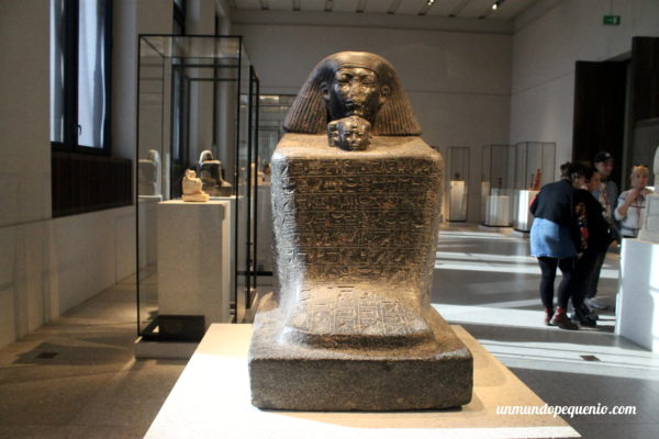 Esculturas egipcias del Neues Museum