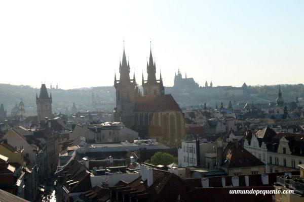 Vista desde el mirador de la Torre de la Pólvora