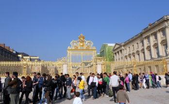 Portón del Palacio de Versalles