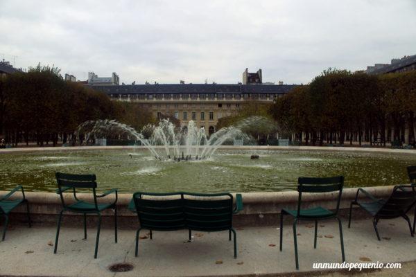 Jardin du Palais Royal París
